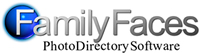 family faces logo